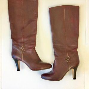 ETIENNE AIGNER Vintage Burgundy Boots